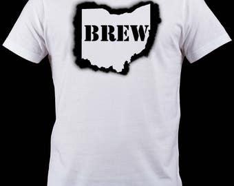 BREW OHIO Sprayed Shirt