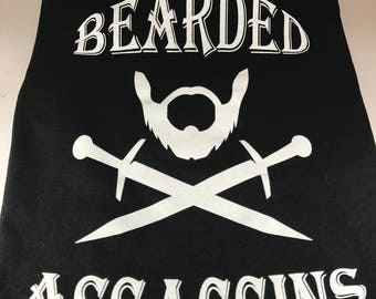 T-shirt *New* Bearded Assassins (Medium)