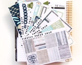 Great Outdoors Weekly Kit (stickers for Erin Condren Life Planner - Vertical)