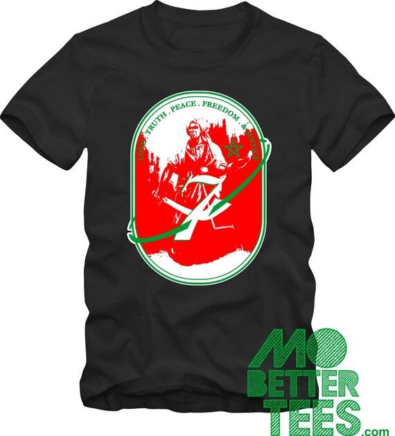 Moorish Warrior Black T-Shirt LTPFJ