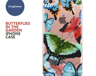 Butterflies iPhone 6s Case Butterflies iPhone 6s Plus Case Butterflies iPhone 7 Case Butterflies iPhone 6 Plus Case (Shipped From UK)