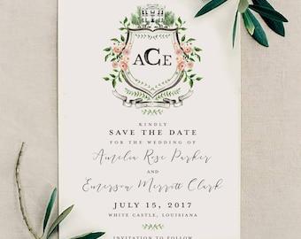 Custom Wedding Save the Date