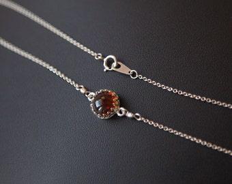 Amber Pendant Natural Amber Necklace Amber Sterling Silver Necklace Silver Amber Necklace Honey Amber Necklace Amber Sterling Silver Pendant