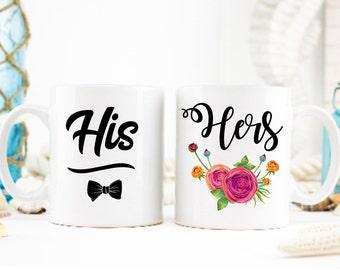 His and Hers Mug Set, His Hers Mugs, Mug Set His and Hers, Mug for Couple, His and Hers Gift Idea, His and Hers, Couple Mugs, His and Hers,