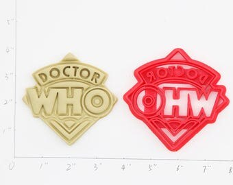 Doctor who Cookie Cutter Doctor who Birthday Doctor who Party Doctor who baby show Doctor who cupcake Doctor who Gift