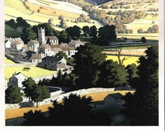 Vintage LNER Yorkshire Dales Railway Poster A3/A2/A1 Print