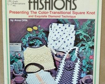 1970s Macrame Purse Patterns - Macrame Purse Fashions - Macrame Handbag - Macrame Shoulder Bag - Macrame Boutique Purse - Macrame Tote