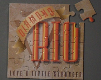 Diamond Rio CD Cover Magnetic Puzzle