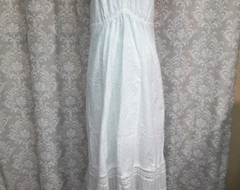 Boho Beach Wedding dress, Halter Wedding Dress, Hippie wedding dress, casual wedding dress, simple wedding dress, cotton and lace dress