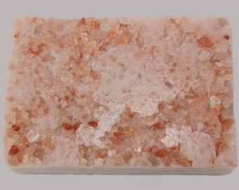 Truly Scent's Rosy Affair Exfoliating Soap Bar- Himalayan Pink Salt- Goat Milk Soap- Sugar Scrub Bar- Solid Sugar Scrub- Rose-Perfect Gift