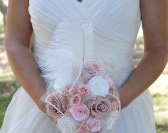 Wedding Bouquet Paris preserved flowers - Keep Your Bride Bouquet - Preserved Natural Flowers