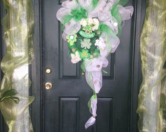 St. Patrick's Day/Spring Wreath