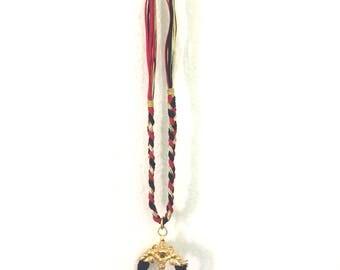 Fancy Gaudy Nautical Pendant Necklace