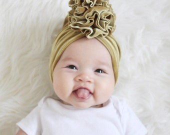 Flower Turban Baby and Toddler