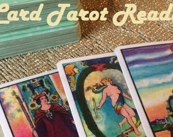Detailed 7 Card Psychic Tarot Reading - Experienced, Empathic Reader GREAT VALUE!
