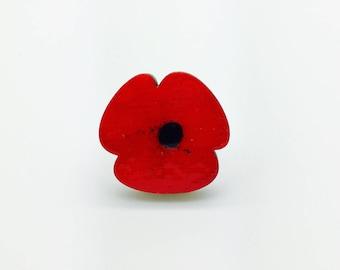 Poppy broche (3cm)