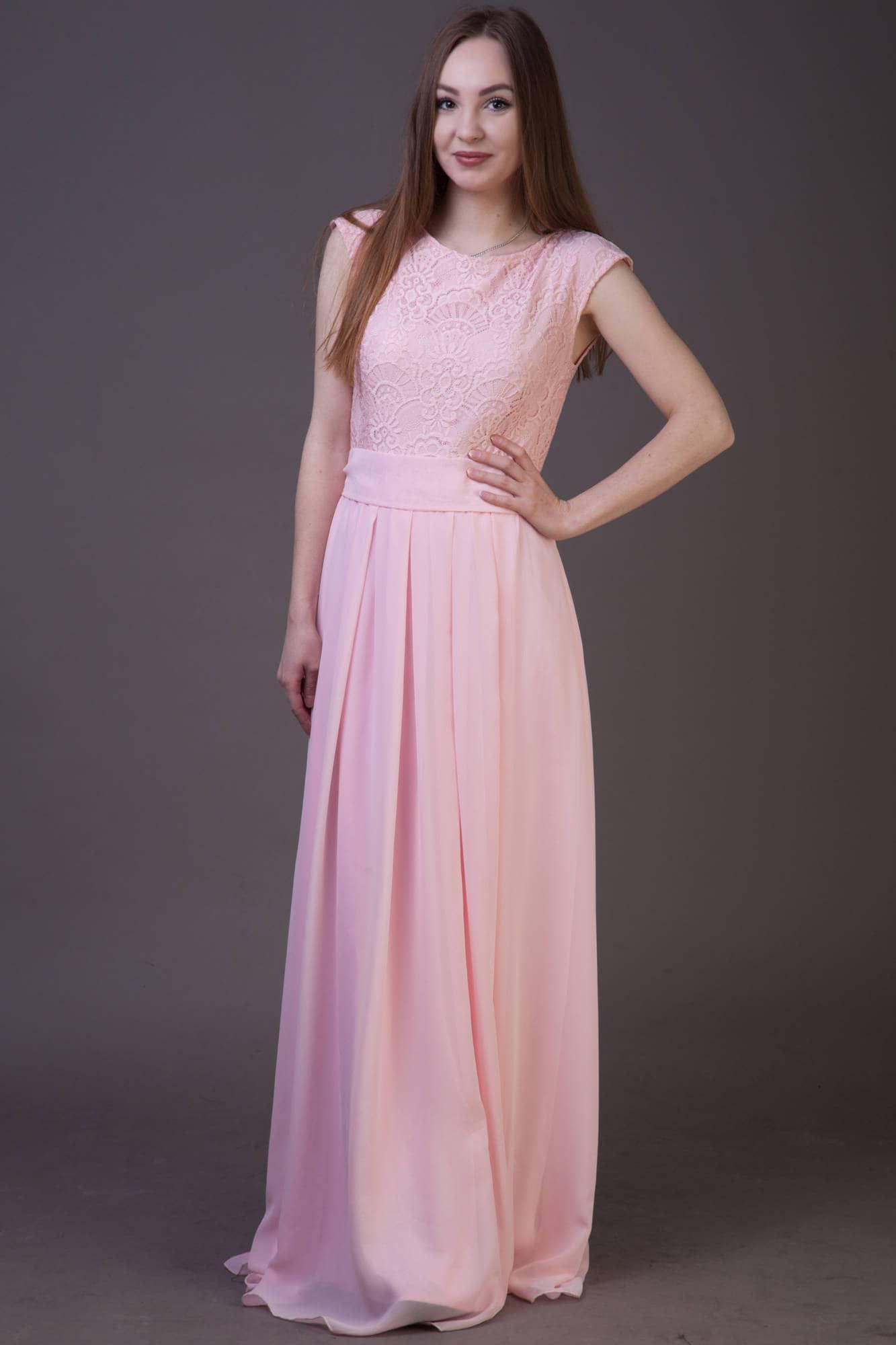 Long blush pink bridesmaid dress long blush dress blush lace zoom ombrellifo Images
