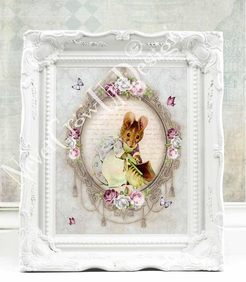 Beatrix potter nursery peter rabbit nursery vintage beatrix - Peter rabbit nursery border ...