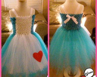 Really pretty Alice in wonderland tutu dress