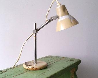 Sweet little vintage desk lamp
