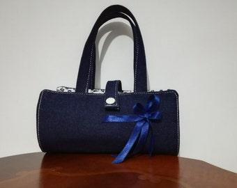 Bag/handbag cosmetic tricks of jeans