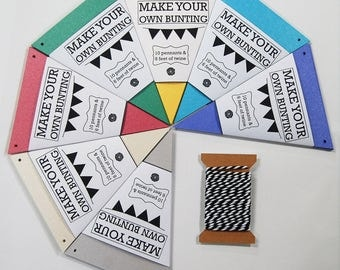 Pennants: Make Your Own Bunting Kit