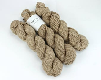 Walnut Hand Dyed Yarn - Aran 50gr