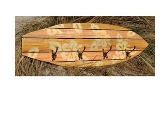 Towel Rack - Surfboard Inspired Design CF039