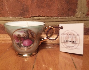 Miniature  Lavender All Natural Soy Candle