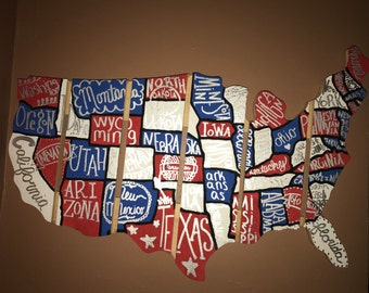 Painted Wooden United States