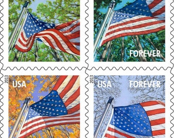 100 Brand New USPS Forever Stamps for First Class Mailing