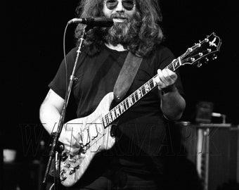 Jerry Garcia, The Grateful Dead, Grateful Dead Concert Poster, Grateful Dead Art, Grateful Dead Poster, Grateful Dead Print (JS1623)