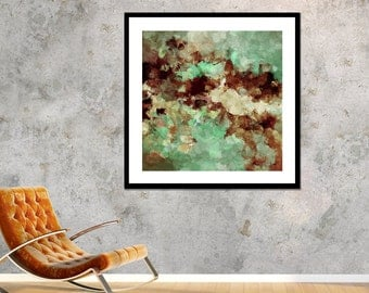 Brown Abstract Print, Abstract Wall Art, Abstract Art Print as Wall Decor, Large Abstract Print, Abstract Painting Print, Canvas Art Prints