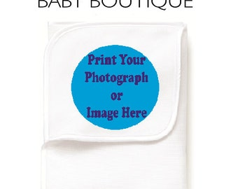 Personalised Baby Blanket - We print any custom photo or image you like