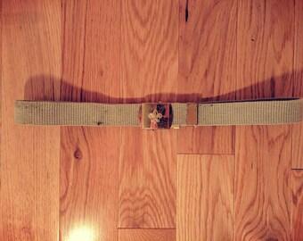 Vintage Boy Scout Belt