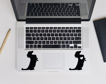 Set of 2! Dachshund decal, Dachshund dog decal for laptop, car, macbook, wall 27