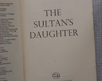 Dennis Wheatley The Sultan's Daughter First Edition First Impression No DJ Very Good Condition