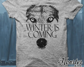 Winter Is Coming Wolf T-Shirt