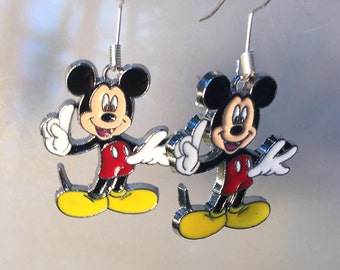 Mickey Mouse Earrings, We are #1, 5 Mickeys to choose from