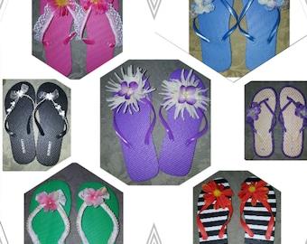 Cute summertime flip flops