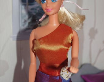 Doll Barbie Pauline and her clothes handmade