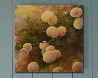 Яблоки/Apples Wall Art Painting, Canvas Painting, Russian Art, Canvas Art, Oil Painting, Large Painting, Large Art