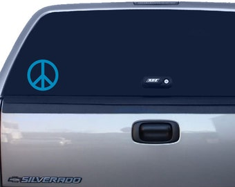Peace Sign Sticker, Peace Decal, Peace Symbol, Yeti Cup Decal, Car Window Decal, Laptop Decal, Macbook Decal, Phone Decal, Bumper Sticker