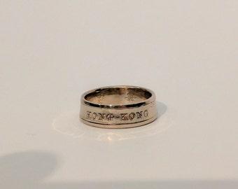 1994 Hong Kong Dollar Coin Ring
