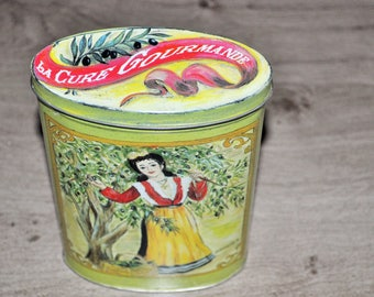 The gourmet cure tin box