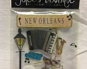 Jolee's Boutique Dimensional New Orleans Sticker