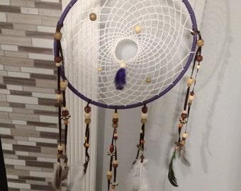 Wood Beads Dream Catcher