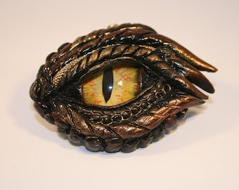 Dragon Eye Fantasy Age Sculpture or Necklace DY10