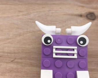LEGO® Robot Brooch/ Pin Pal/ Bull Bot Bot Pin
