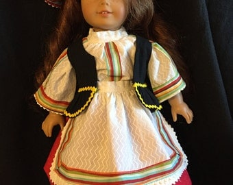 American girl doll  Ukraine  outfit